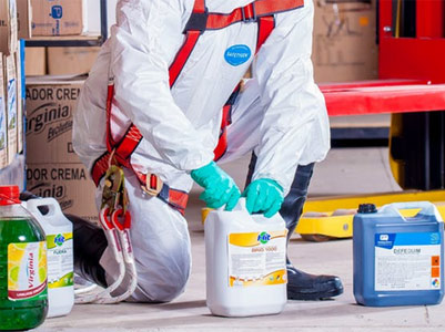 Many jobs carry the risk of harmful exposure to toxic chemicals