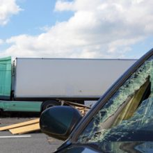 Does a car or truck accident count as a work injury?
